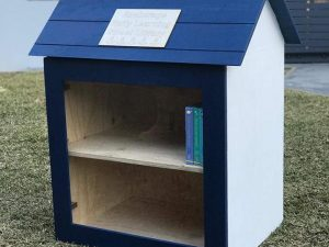 Anchorage Early Learning's Street Library has been built!